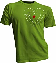 Wicked Monkey Wear Grinch Heart 2 Sizes Too Small T-Shirt