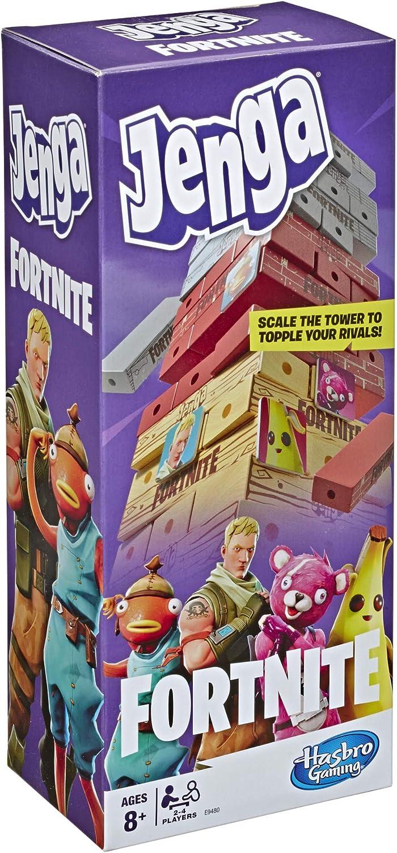 18. Hasbro Gaming Jenga: Fortnite Edition