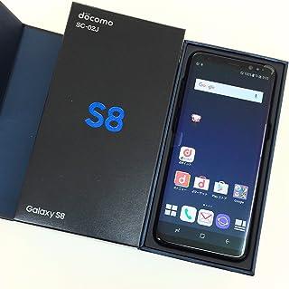 Galaxy S8 SC-02J ブラック 白ロム Midnight Black 黒色 docomo