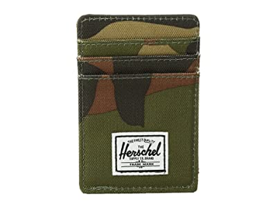 Herschel Supply Co. Raven RFID (Woodland Camo) Wallet Handbags