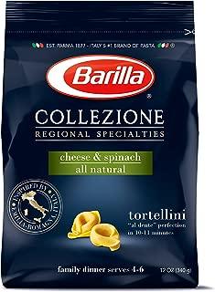 Barilla Collezione Pasta, Cheese & Spinach Tortellini, 12 Ounce