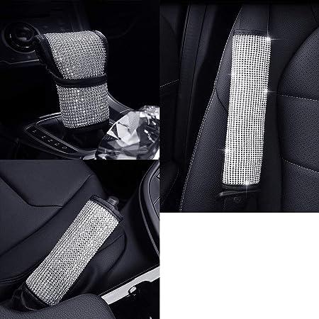 Bling Bling Auto Abdeckung Für Ganghebel Glänzend Kristalloptik Schaltknauf Schutz Dekor Zubehör Für Frauen Auto