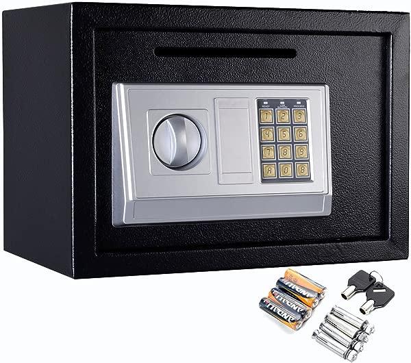 Safstar Electronic Digital Security Keypad Lock Box Home Office Hotel Safe Business Jewelry Cash Money Gun Cabinet 13 8 X 10 X 10