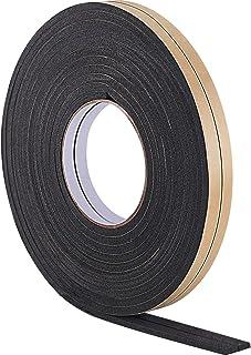 comprar comparacion 10 m de Burletes de Espuma Cinta de Sellador para Sellado de Puerta Ventana (5 mm, Negro)