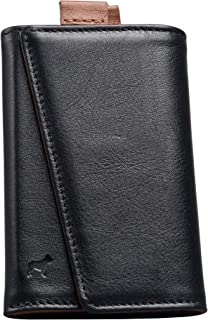 | The Original Speed Wallet - Top Quality Italian Leather - RFID Blocking - Super Fast Card and Bill Access