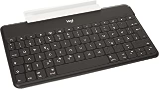 Logitech Keys-to-go 超便携键盘适用于苹果 ipad(German Layout 德语版本 QWERTZ布局)