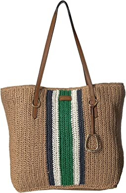 Crochet Straw Tote Large