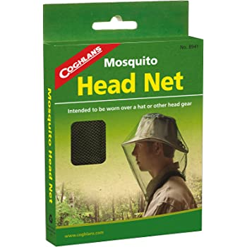 Coghlan/'s Mosquito Head Net Unisex Bug Netting Outdoor Camping Fishing 3-Pack