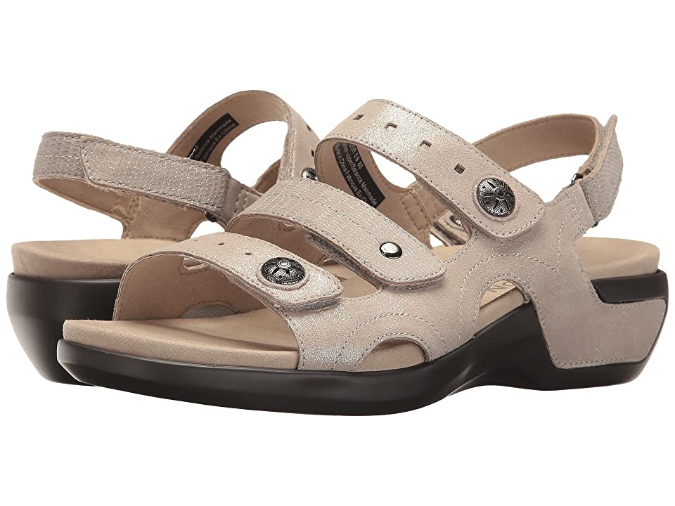 Aravon PC Three Strap (Metallic Sand) Women