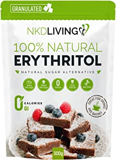 100% Natural Erythritol 300g (Granulated) by NKD Living