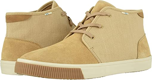 Desert Tan Suede/Heritage Canvas