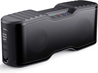AOMAIS Sport II Portable Wireless Bluetooth Speakers Waterproof IPX7, 15H Playtime, V5.0, 20W Bass Sound, Stereo Pairing, for Outdoors, Travel, Pool, Home Party 2020 Upgrade Black