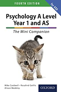 A Level Year 1 and AS Psychology: The Mini Companion for AQA (PSYCHOLOGY COMPLETE COMPANION) (English Edition)