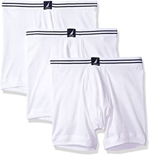 Nautica Men's Cotton Stretch Classic Boxer Brief Multipack