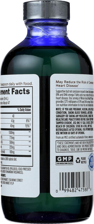 Whole Foods Market, Omega-3, 8 fl oz