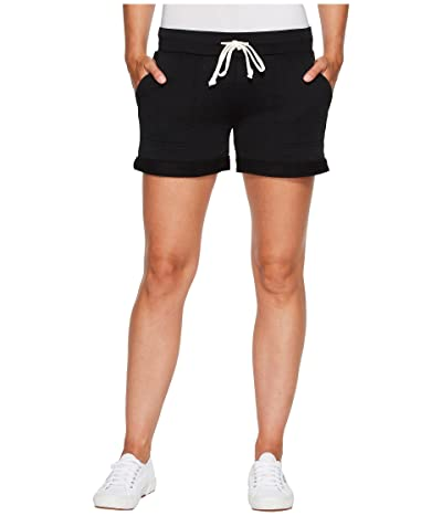 Alternative Burnout French Terry Lounge Shorts (True Black) Women