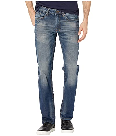 Buffalo David Bitton Six-X Straight Leg Jeans in Indigo (Indigo) Men