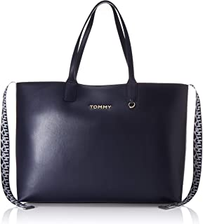 Tommy Hilfiger Women's Iconic Tote Bag, Blue - AW0AW07948
