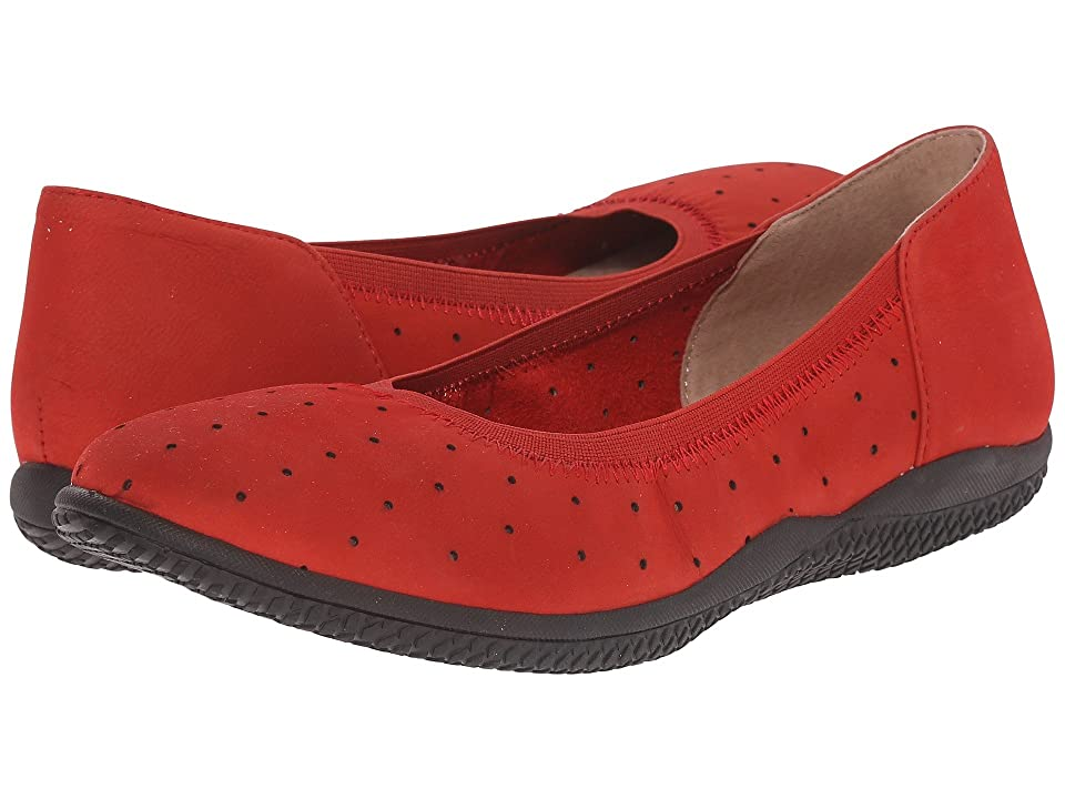 SoftWalk Hampshire (Red Nubuck Leather) Women