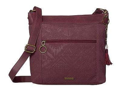 Sakroots Arcadia Finn Crossbody (Cabernet) Cross Body Handbags