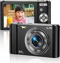 Digital Camera 2.7K Ultra HD Mini Camera 44MP 2.8 Inch...