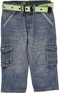 Belted Cargo Denim Shorts Juniors Skate Clothing Short Pants Bottoms