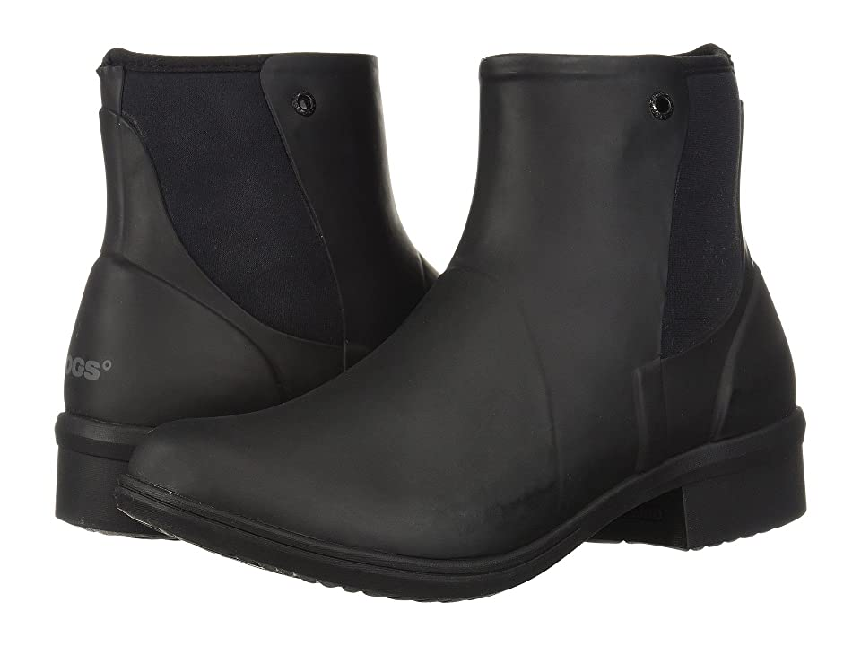 Bogs Auburn Rubber (Black) Women