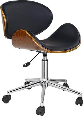 Amazon.com: Flash Furniture Vibrant Orange and Chrome Swivel ...