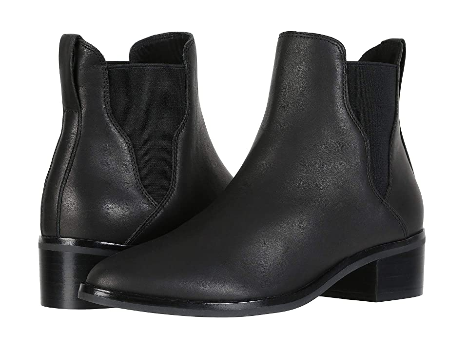 Soludos Marfa Leather Chelsea Bootie (Black) Women