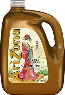 Arizona Diet Green Tea with Ginseng 128 oz (Pack of 4)