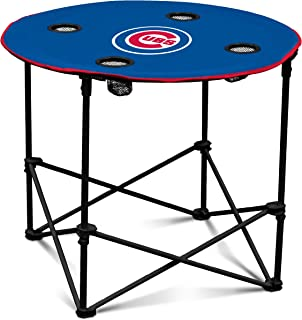 MLB Chicago Cubs Round Tailgating Table