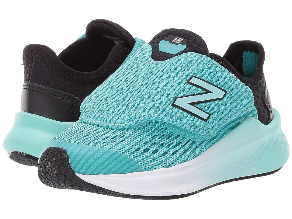 New Balance Kids Fresh Foam Fast (Infant/Toddler) (Black/Tidepool) Girls Shoes