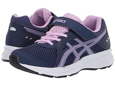 ASICS Kids Jolt 2 PS (Toddler/Little Kid) (Indigo Blue/Astral) Girls Shoes