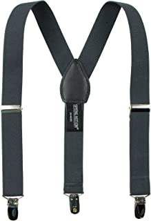 Spring Notion Boys' Elastic Suspender with Leather Crosspatch