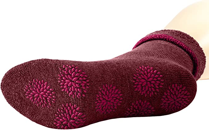1 Paar Farben Schurwollmischung W/ärmende Stoppersocke mit rutschsicherem Silikondruck ESPRIT Damen Stoppersocken Cosy versch Gr/ö/ße 35-42