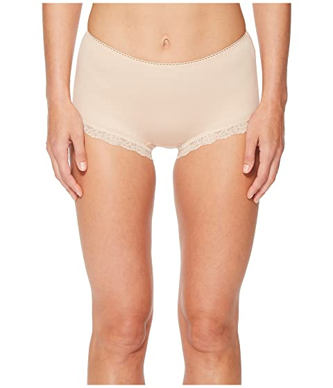 Cotton Shirred Back Panty, Chai