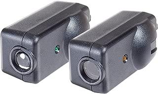 Chamberlain / LiftMaster / Craftsman Garage Door Opener Replacement Safety Sensors G801CB-P, Includes 2 Sensors, Mounting Brackets and Hardware (Renewed)