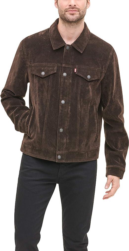 Levi's Men's Faux Leather Classic Trucker Jacket