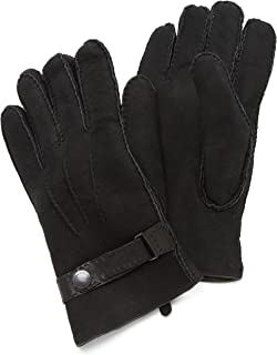 Ted Baker Men's Carcoal Leather Glove