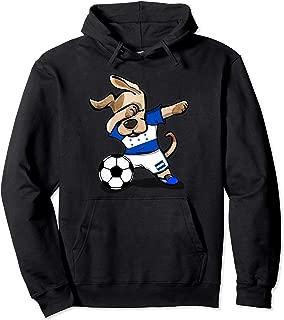 Dabbing Dog Honduras Soccer Jersey Honduran Football Team Pullover Hoodie
