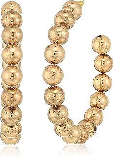 Steve Madden Womens Beaded Post Earrings