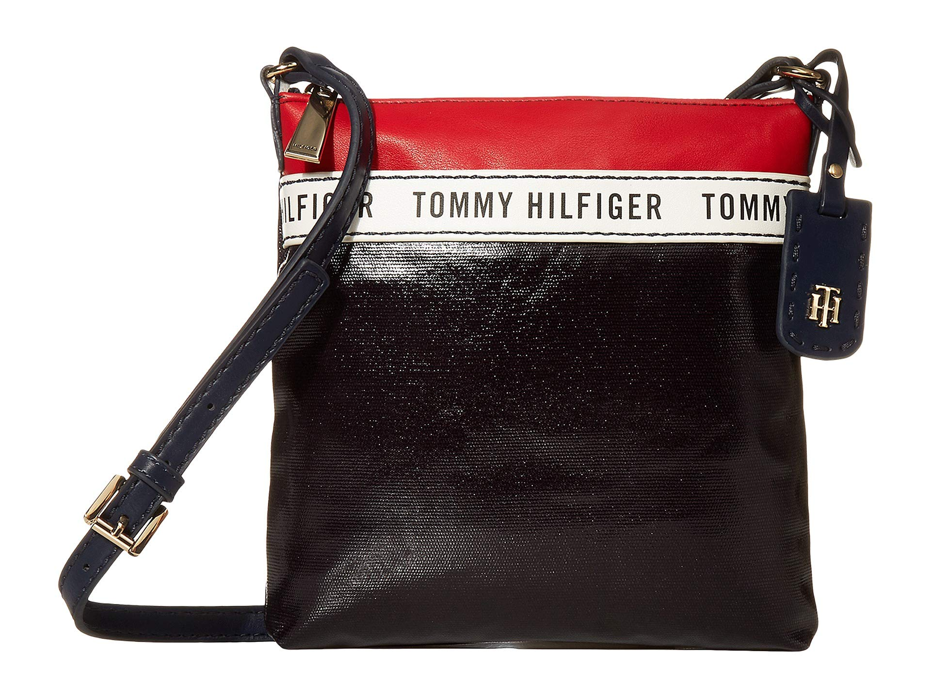 Tommy Hilfiger Tommy Hilfiger Julia Coated Canvas Crossbody