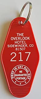 The Overlook Hotel Inspired Key Tag in Red and White Room # 217 (Book Room Number)
