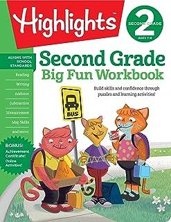 The Big Fun Second Grade Workbook (Highlights™ Big Fun Activity Workbooks)