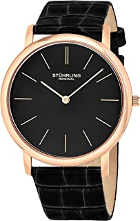Stuhrling Original Men's Classic 'Ascot' Slim Swiss Watch #601.3345K1