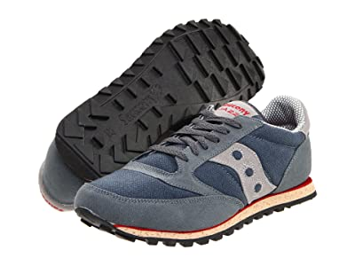 Saucony Originals Jazz Low Pro Vegan (Grey/Red) Men