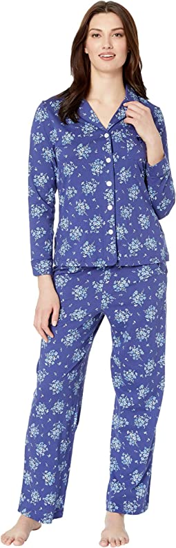 Navy Floral Bunches