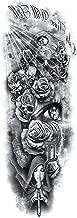 Tattoosticker schedel...