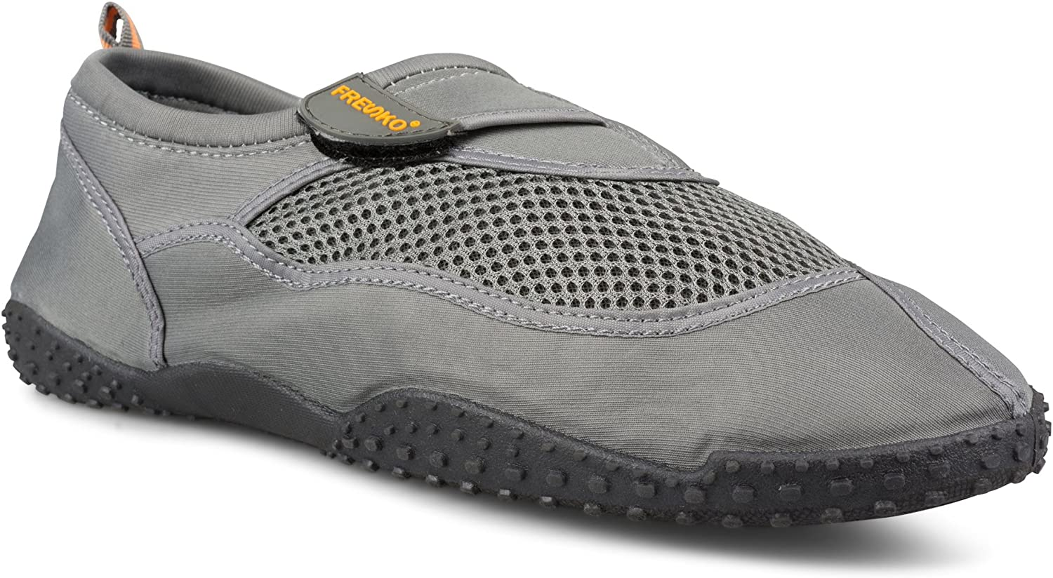Fresko shoes Large Mens Athletic Water Swim shoes for Beach, Closure