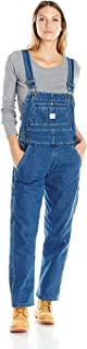 Key Apparel Women's Denim Bib Overall